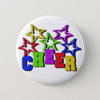 Cheer Stars Pinback Button