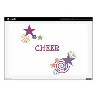 """Cheer Swirl Skins For 17"""" Laptops"""