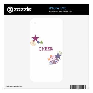 Cheer Swirl iPhone 4S Skin