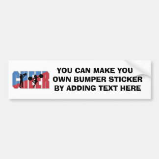 CHEER T-shirts and Gifts Bumper Stickers