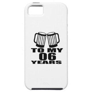 Cheer To My 06 Years Birthday iPhone SE/5/5s Case