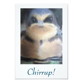 """Cheer Up!"" Bird Card"
