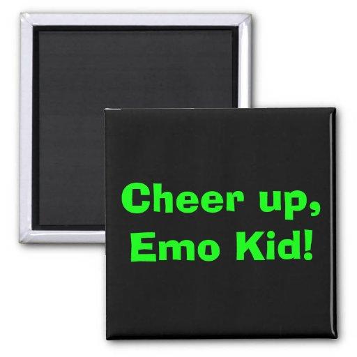 Cheer up, Emo Kid! Refrigerator Magnets