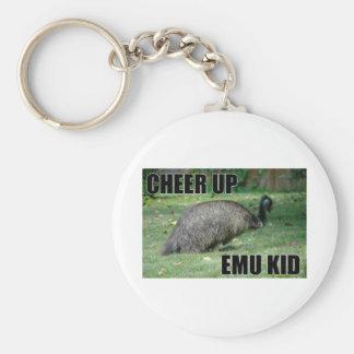 Cheer Up Emu Kid Keychain