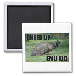 Cheer Up Emu Kid Magnet