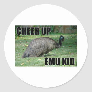 Cheer Up Emu Kid Sticker