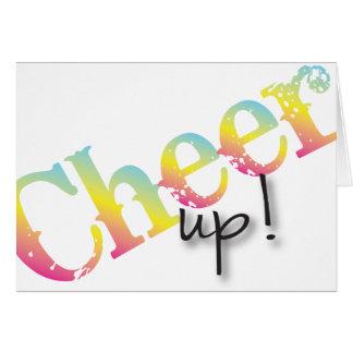 Cheer Up get well soon card