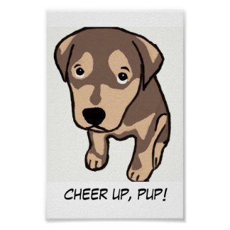 Cheer Up, Pup! Poster