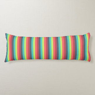 Cheer Up Striped Pattern Body Pillow