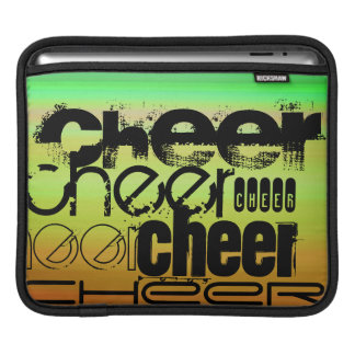 Cheer; Vibrant Green, Orange, & Yellow Sleeve For iPads
