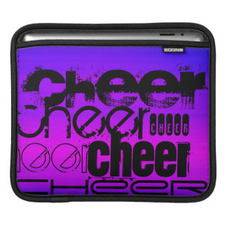 Cheer; Vibrant Violet Blue and Magenta iPad Sleeve