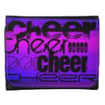 Cheer; Vibrant Violet Blue and Magenta Wallets