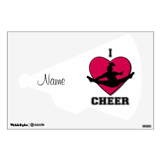 Cheer wall decall wall decal