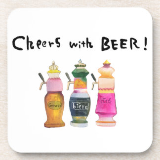 Cheer with beer! #4 coaster