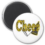 Cheer Zebra Style Magnets
