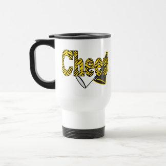 Cheer Zebra Style Travel Mug