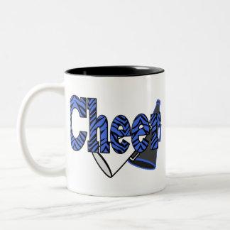Cheer Zebra Style Two-Tone Coffee Mug