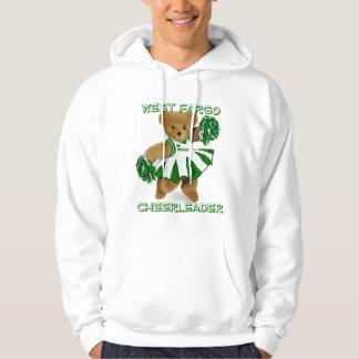 cheerbear02, WEST FARGOCHEERLEADER Hooded Sweatshirts