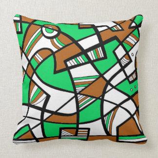 Cheerful Animal Pretty Cheerful Throw Pillow