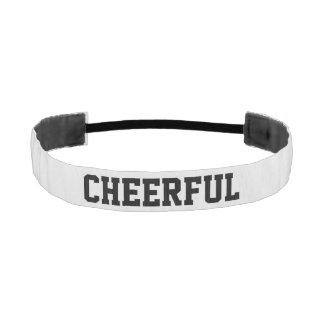 Cheerful Athletic Headband