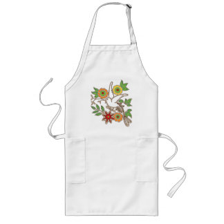 Cheerful Bird Apron