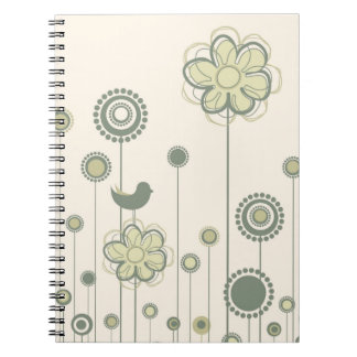 Cheerful Birds Notebook