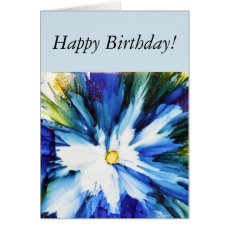 Cheerful birthday card for her
