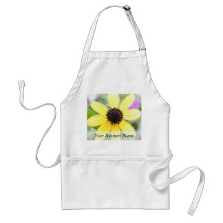 Cheerful Black Eyed Susan Adult Apron