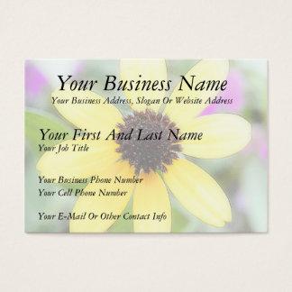 Cheerful Black Eyed Susan Business Card