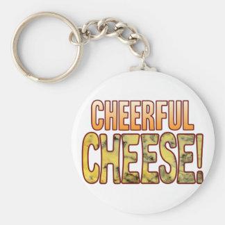 Cheerful Blue Cheese Keychain