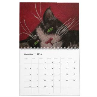 cheerful calendar