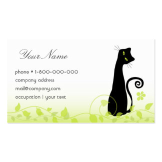 Cheerful Cat Business Card