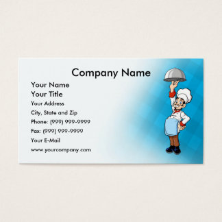 Cheerful Chef Business Card