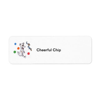 Cheerful Chip's Store! Return Address Labels