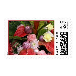 Cheerful Christmas Bouquet Stamps