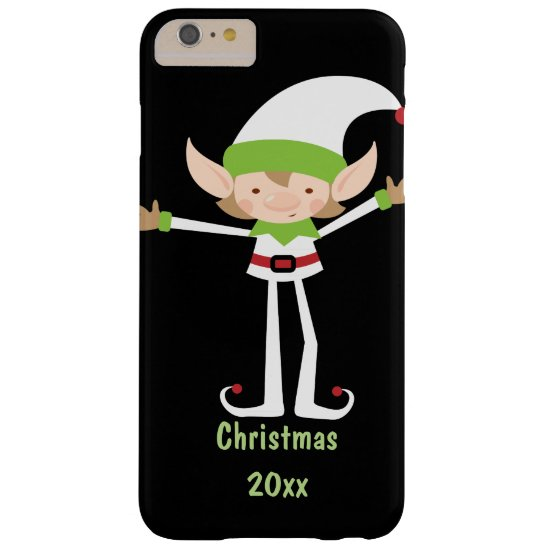 Cheerful Christmas Elf Phone Case
