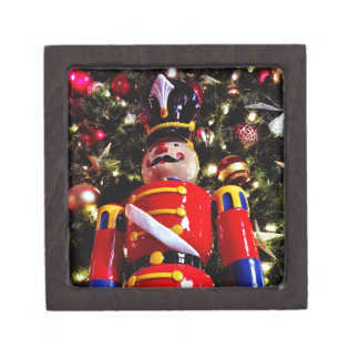 Cheerful Christmas Nutcracker Keepsake Box