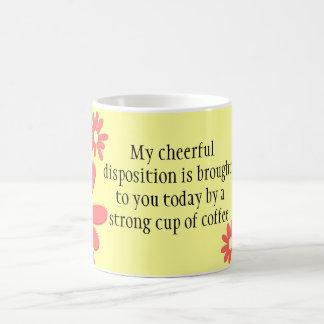 Cheerful Coffee Coffee Mug