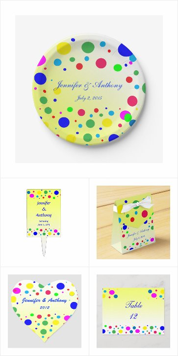 Cheerful Color Bubble Balloon Party Favors