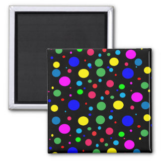 Cheerful Color Circles Magnet