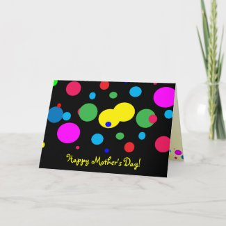 Cheerful Color Circles Mother's Day