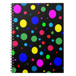 Cheerful Color Circles Notebook