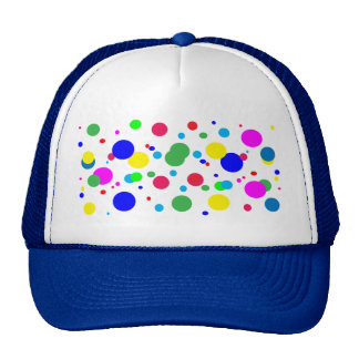 Cheerful Color Circles Trucker Hat