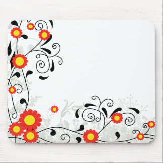 Cheerful Corner Mouse Pad