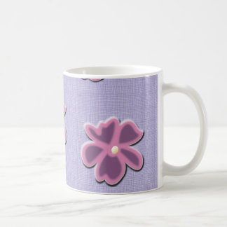 Cheerful country flowers for a morning smile. coffee mug