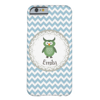 Cheerful cute owl doily lace barely there iPhone 6 case
