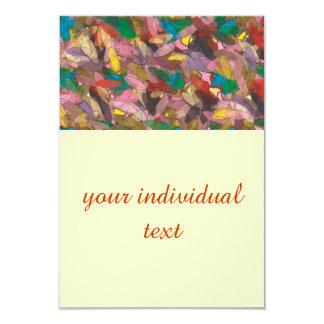cheerful ellipses 3.5x5 paper invitation card