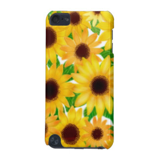 Cheerful European Sunflowers iPod Touch Case