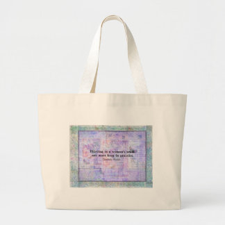 Cheerful flirtatious Charlotte Bronte quote Tote Bag