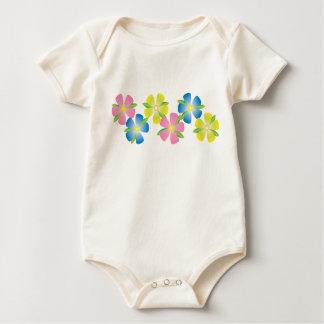 Cheerful Flowers Baby Creeper